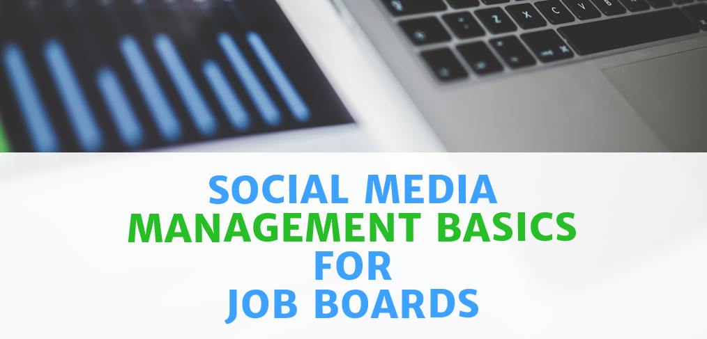social media management for job boards