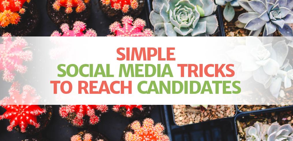social media for job boards