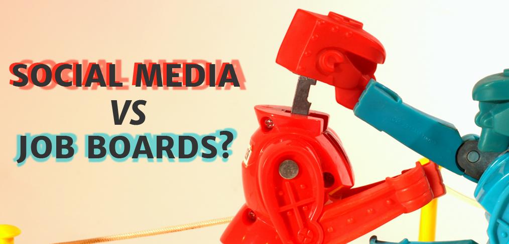 social media and job boards