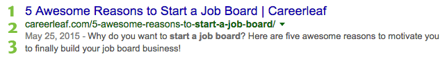 SEO for job board content