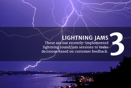 3 Lightning Jams