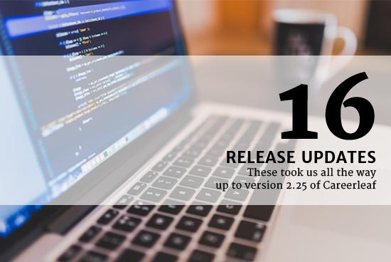 16 Release Updates