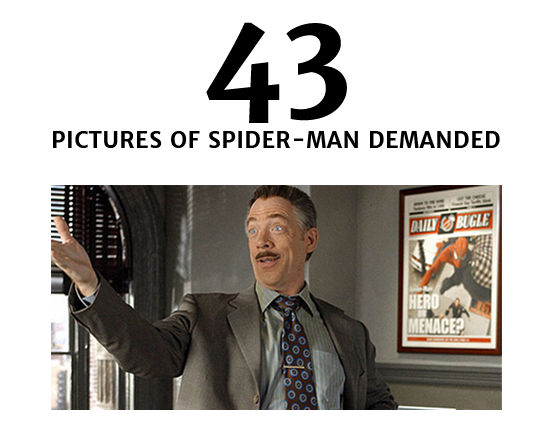 43 Pictures of Spider-Man requested