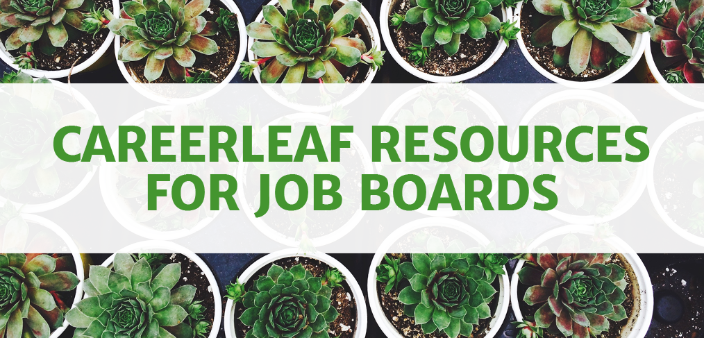 Careerleaf Resources for Job Boards