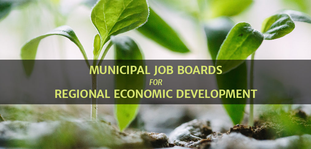 Municipal and Regional Job Boards for Economic Development