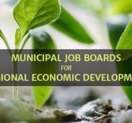 Municipal and Regional Job Boards for Economic Development