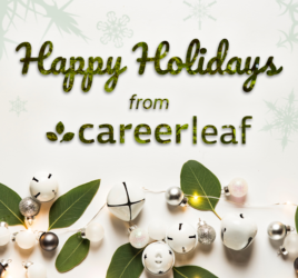 Happy Holidays from Careerleaf