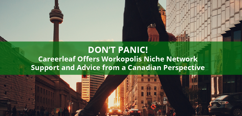 Careerleaf's Advice for Workopolis Niche Network's Job Boards